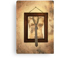 Woman Torso In Frame Canvas Print