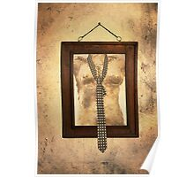 Woman Torso In Frame Poster
