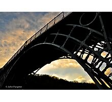 The Ironbridge, Shropshire Photographic Print