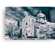 Chapelle Notre-Dame de Lourdes de Montréal Canvas Print