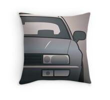 Modern Euro Icons Series VW Corrado VR6 (Split) Throw Pillow