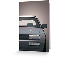 Modern Euro Icons Series VW Corrado VR6 (Split) Greeting Card