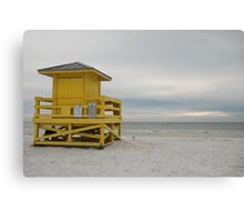 gazing out to sea Canvas Print