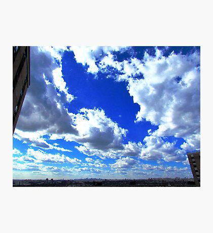 Clouds, New York City  Photographic Print