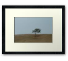 Sky.Tree.Hill - New South Wales Framed Print