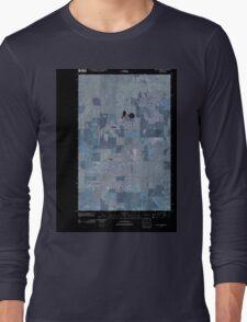 USGS Topo Map Washington State WA Saint Andrews 20110425 TM Inverted Long Sleeve T-Shirt