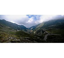 Transfagarasan Mountain Photographic Print