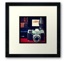 Kodak Retina Reflex Part 1 Framed Print