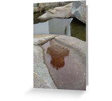 Peggy's Cove Reflection Greeting Card