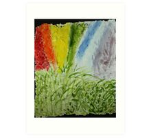 Genesis Laurel Rainbow Art Print