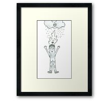 The Forces of Nature and Mr Homeless Framed Print