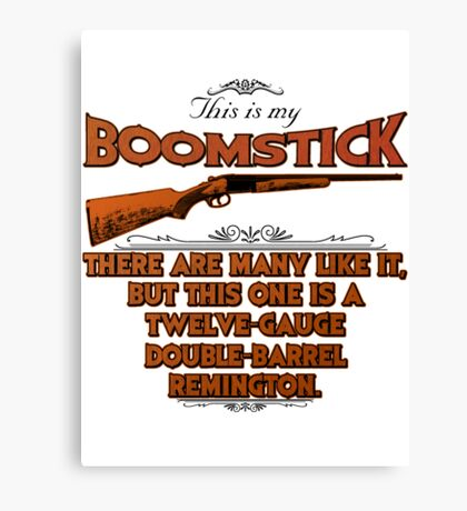 Boomstick Creed Canvas Print