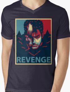 Guts Berserk Mens V-Neck T-Shirt