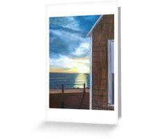 Truro Sunset Greeting Card