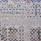 Newspaper Lattice by Joan Wild