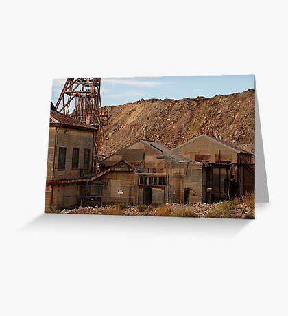 Rusting in Broken Hill Greeting Card