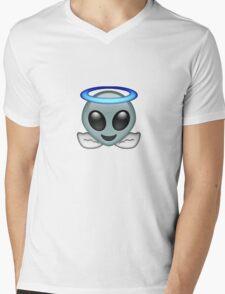Alien Angel {FULL} Mens V-Neck T-Shirt