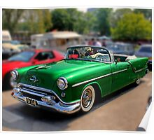54 Olds Poster