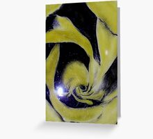 Sulfur crystals delight Greeting Card