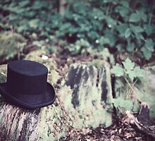 Tophat in a green wood by EllieGoldwine
