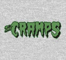 The Cramps GREEN FUZ Kids Tee