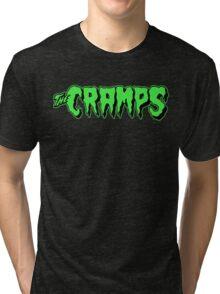 The Cramps GREEN FUZ Tri-blend T-Shirt