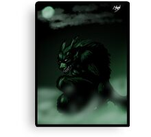Beast Within Poster Canvas Print
