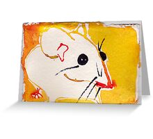 Native Mouse Greeting Card