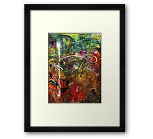A World-FULL of HOPE Makes Room for TRUST Framed Print