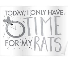 Yoday, I only have time for my RATS Poster