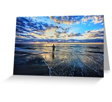 Let Me Be Alone By the Sea Greeting Card