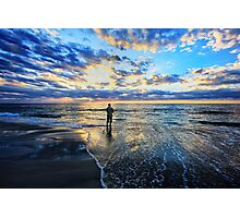Let Me Be Alone By the Sea Photographic Print