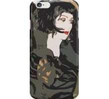 Pop arty tarot inspired collage - La Mort iPhone Case/Skin