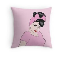 Violet Chachki Pin up Pop Art Throw Pillow