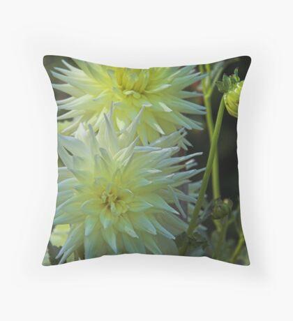 Dahlias Throw Pillow