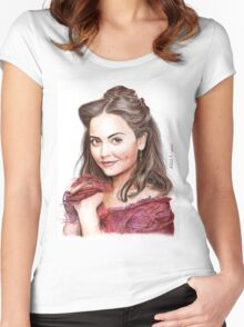 Clara Oswald (Doctor Who) - Victorian Era Women's Fitted Scoop T-Shirt