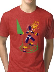 Mega Man Zero Splattery Shirt & iPhone Case Tri-blend T-Shirt