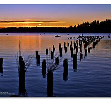 Sunset at Juanita Bay Park by MrsRatbag