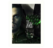 Arrow - Season 4 set Art Print