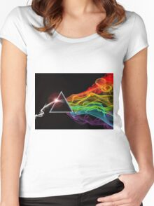 Pink Floyd – The Dark Side Of The Moon Women's Fitted Scoop T-Shirt