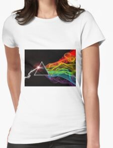 Pink Floyd – The Dark Side Of The Moon Womens Fitted T-Shirt