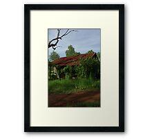 Bush Gaol Framed Print