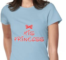 HIS PRINCESS Womens Fitted T-Shirt