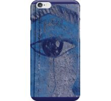 Graffiti Blue Eye iPhone Case/Skin