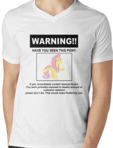cuteness radiation Mens V-Neck T-Shirt