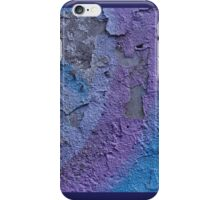 Graffiti Purple Blue iPhone Case/Skin