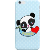 Panda! <3 iPhone Case/Skin