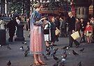 Trafalgar Square 19570903 0004 by Fred Mitchell