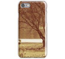 Autumn In City Park iPhone Case/Skin