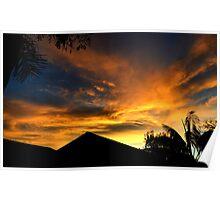 Goleta Sunset Poster
